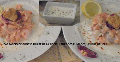 Des recettes de truite